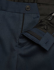 Lindbergh - Structure suit - single breasted suits - blue - 5