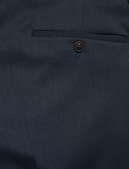 Lindbergh - Structure suit - single breasted suits - blue - 6