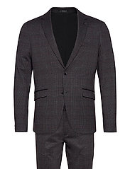 AOP checked suit - GREY CHECK