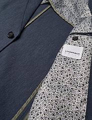 Lindbergh - Cotton linen suit - yksiriviset puvut - dk blue mix - 4