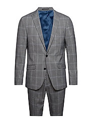 Checked suit - GREY CHECK