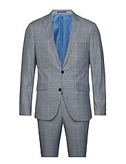 Checked suit - BLUE CHECK