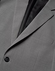 Lindbergh - Plain mens suit - yksiriviset puvut - lt grey mel - 5
