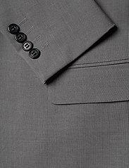 Lindbergh - Plain mens suit - yksiriviset puvut - lt grey mel - 6