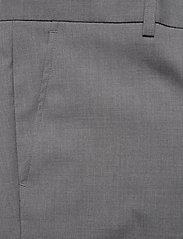 Lindbergh - Plain mens suit - yksiriviset puvut - lt grey mel - 8