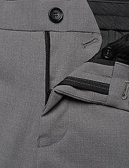 Lindbergh - Plain mens suit - yksiriviset puvut - lt grey mel - 9
