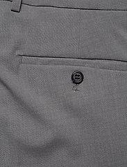 Lindbergh - Plain mens suit - yksiriviset puvut - lt grey mel - 10