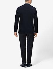 Lindbergh - Plain mens suit - enkeltkneppede dresser - navy - 7