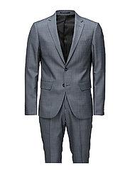 Plain mens suit-blazer ? - BLUE MIX