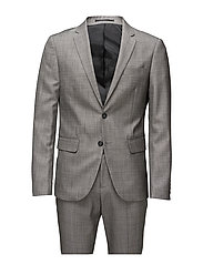 Plain mens suit-blazer ? - GREY MIX