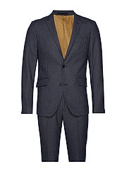 Checked suit - BLACK
