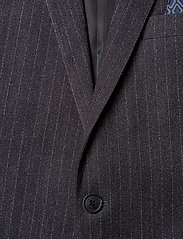 Lindbergh - Pin striped suit - costumes simple boutonnage - dk grey mel - 3