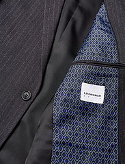 Lindbergh - Pin striped suit - costumes simple boutonnage - dk grey mel - 5