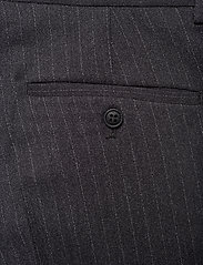 Lindbergh - Pin striped suit - costumes simple boutonnage - dk grey mel - 10