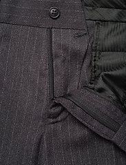 Lindbergh - Pin striped suit - costumes simple boutonnage - dk grey mel - 11