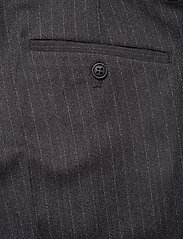 Lindbergh - Pin striped suit - costumes simple boutonnage - dk grey mel - 12