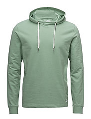 Basic sweat hoodie - DUST GREEN