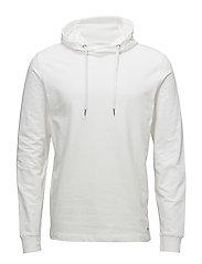 Basic sweat hoodie - WHITE
