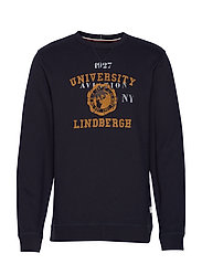 Printed sweat - NAVY
