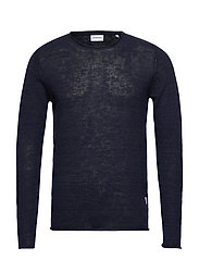 Casual knit - DK BLUE