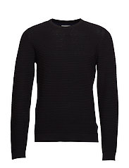 Structure knit - BLACK