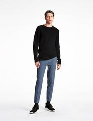 Lindbergh - Structure knit - perusneuleet - black - 0