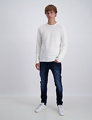 Lindbergh - Structure knit - perusneuleet - off white - 0