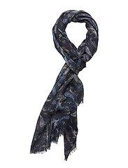 Paisley scarf - NAVY