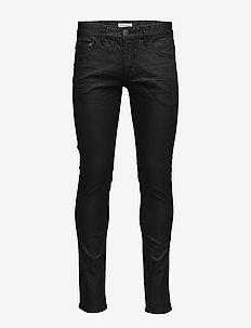 Mens 5 pocket stretch jeans - BLACK
