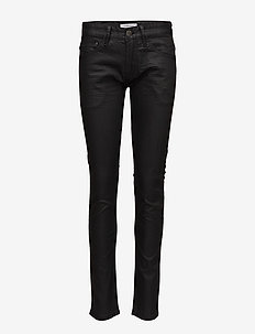 Mens 5pocket stretch jeans - BLACK