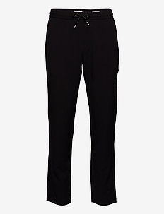 Club pants with drawstring - pantalons décontractés - black