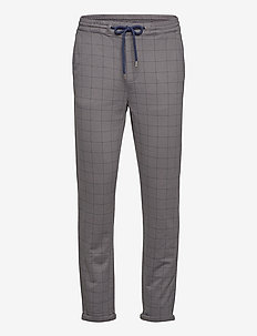 Club pants with elastic waist - pantalons décontractés - grey mel