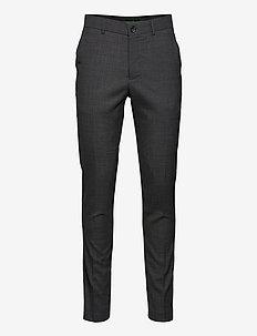 Superflex pants - od garnituru - dk grey mel