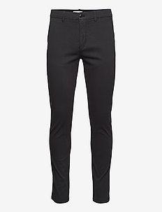 Superflex chino pants - chinos - black