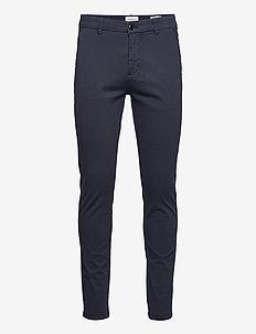 Superflex chino pants - pantalons chino - dk blue