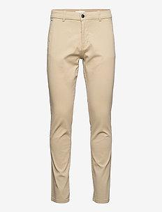 Superflex chino pants - chinos - sand