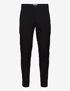 Club pants - cargo - bojówki - black