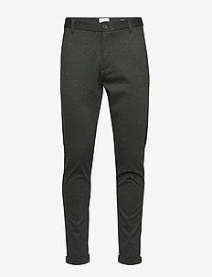 Knitted pants normal length - ARMY MIX