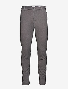 Superflex pant normal length - pantalons décontractés - grey mix