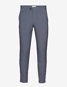 Club pants - suit trousers - blue mix