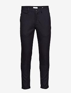 Club pants - pin striped - NAVY