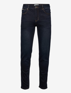 Superflex recycled jeans - tapered jeans - temper blue