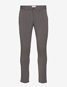 Casual stretch pant - GREY MEL