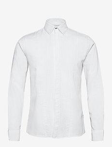 Tuxedo shirt L/S - basic skjortor - white