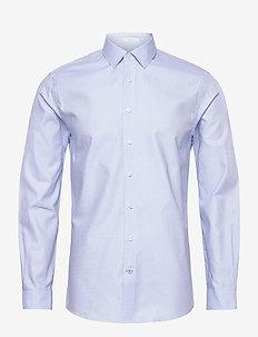 Dobby shirt L/S - formele overhemden - light blue