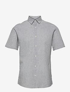 Linen shirt S/S - basic-hemden - navy