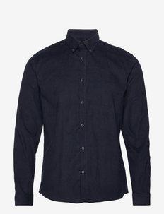 Fine corduroy shirt L/S - basic-hemden - navy