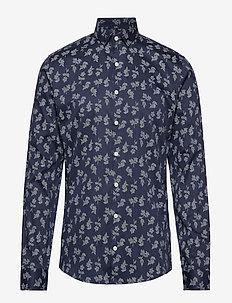 Printed shirt L/S - NAVY
