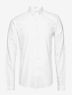 Oxford shirt L/S - podstawowe koszulki - white