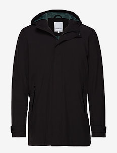 Functional coat - BLACK